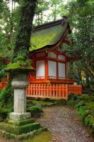 Shrines : Temple Building 04 by taeliac-stock