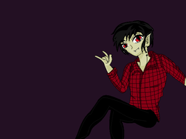 Marshall Lee~ by hanyou-lover1
