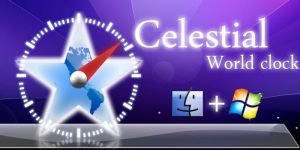 """Celestial"" World Clock by masacote18"