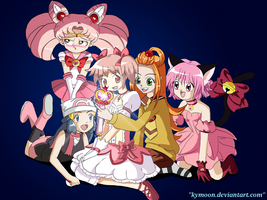 Magical Girls by Kymoon