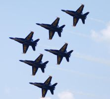 Blue Angels Formation by GTX-Media