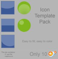 Icon Template Pack by NAkos