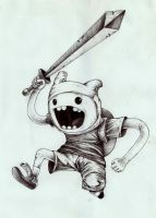 Finn from Adventure Time by ntmiler14
