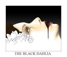 The Black Dahlia by kgrape