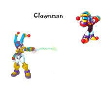Megaman ZX Live Metal:Clownman by BarryBurton