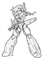 Armour Babe by wayner8088