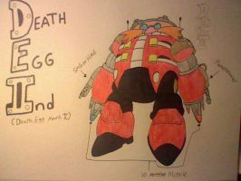 Project Death Egg Robot IInd by AllenGutairHero