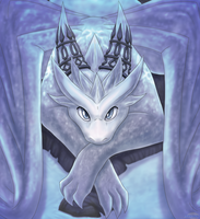 Mabinogi: Ice Dragon Pet by Lifefantasyx