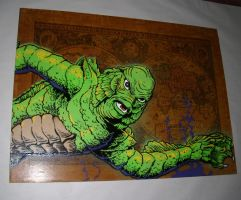 creature from the black lagoon by cucusita