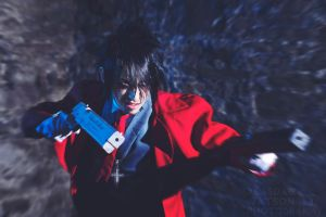 Hellsing Alucard Cosplay by CocoDeathMetaller