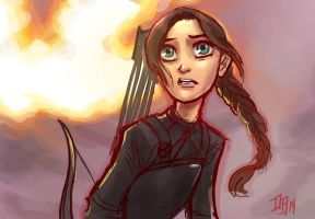 The Hunger Games: Mockingjay Part 1 - Disney Style by DaveJorel