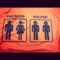 Problem Solved Tshirt by allonsenfaire