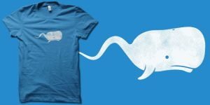 Sperm Whale t-shirt by biotwist