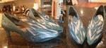 Elsa Cosplay Shoes by GreyBird4