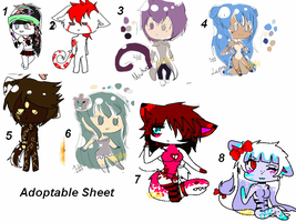 Adoptable sheet 4 LEFT by Mako-chii