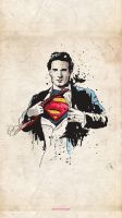 Iphone 5 Wallpaper - Superman by ADTasarim