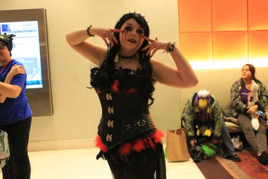Acen 2014 - Blind Mag Cosplayer (Repo!) by AthenasNitemare