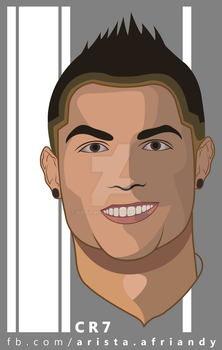 Cristiano Ronaldo by Arista Afriandy by AristAF