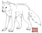 Wolf Makeable by TeaDino