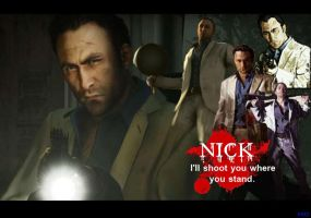 Left 4 dead Nick desktop by SlaveRain