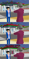 [MMD] Ace Attorney 5 Dual Derps by mattwo