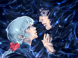 Howl and Sophie. by Taiss14