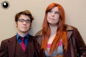 The Doctor and Donna by AzreGreis