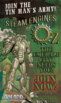 Join the Tin Man's Army (The Steam Engines of Oz) by LastBard