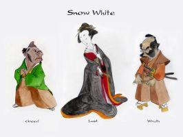 Snow White Concepts by Bogamaz