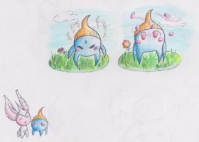 PKMNation: Meringue learns a move and chibis yes by gaper4