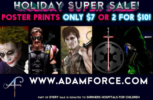 My Art Ad for a local event by adamforce