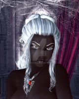 Drow Lady by chanandra
