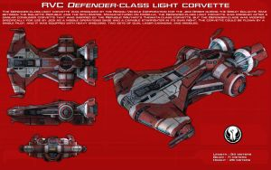 Defender-class light corvette ortho [New] by unusualsuspex