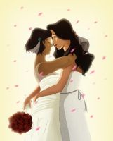 Korrasami wedding! by MisterChatNoir