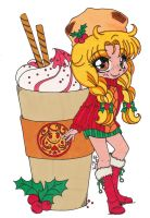 YamBucks Chibi Holiday Coloring Contest by Maiko-Girl