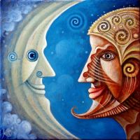 Moon and Guardian of Sun by FrodoK