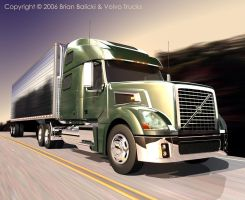 Volvo VT880 - Full Speed Ahead by Futurender