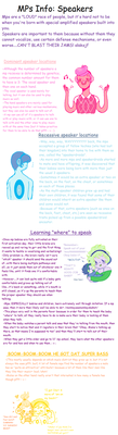 MPs Info: Speakers by Ask-MusicPrincess3rd