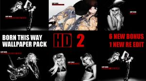 BORN THIS WAY HD BONUS PACK by cocooh
