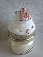 Peppermint Scented Candle - Peppermint Bark by ninja2of8