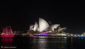 Opera House at Night 3 by Al-Msafer