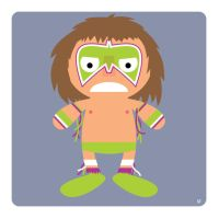 ultimate warrior by striffle