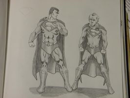 Superman, age 1000 by hcollazo2000