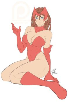 PREVIEW - Scarlet Witch by R62