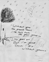 Without you... by Deidaras--Girl