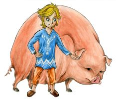 Outset Link - TP style by Skull-the-Kid