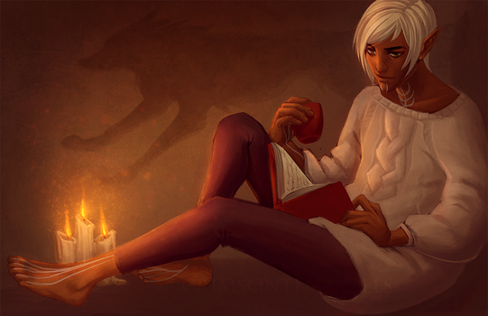 - reading - by Alquana