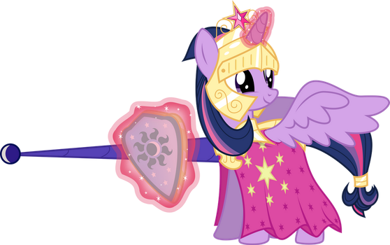 Jousting is for princesses too by xenoneal
