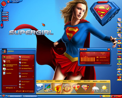 Supergirl Desktop by a666a