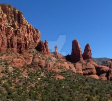 Sedona Red by Gailsart